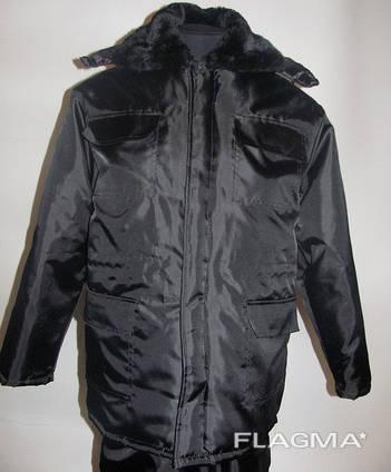 Костюм рабочий утепленный Один , куртка с полукомбинезоном