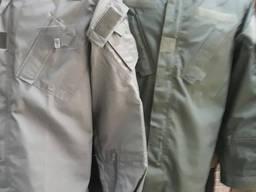 Костюм охранника военный ткань рип-стоп цвет олива черный кайот