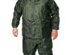 Костюм пвх - нейлон куртка брюки (зеленый)