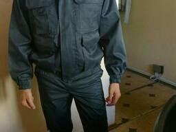 Костюм рабочий д/с:куртка,полукомбинезон,мужской,женский, по