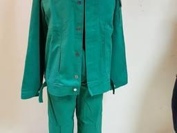 Костюм рабочий демисезонный куртка брюки ткань саржа