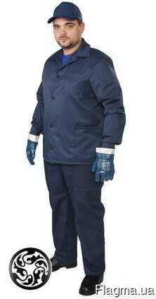 Костюм рабочий, спецодежда, курточка и брюки