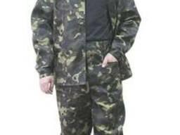 Костюм рабочий камуфлированный, брюки и куртка.