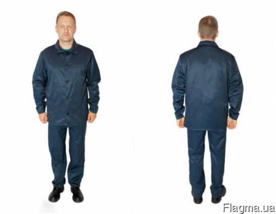 Костюм рабочий. куртка. брюки, мужской. женский, грета