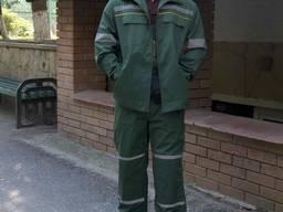 Костюм рабочий (куртка полукомбінезон)