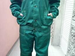 Костюм рабочий Лео, куртка, брюки, ткань саржа
