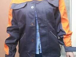Костюм рабочий Мастер, куртка с брюками, ткань саржа