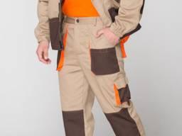 Костюм рабочий мужской, с карманами в наличии, мужская спецо