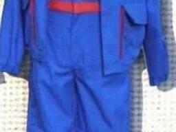 Костюм рабочий, полукомбинезон и куртка, рабочая форма