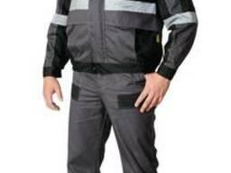 Данная спецодежда состоит из курточки и полукомбинезона. Так