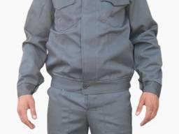 Костюм рабочий серый ткань грета
