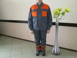Костюм рабочий, спецодежда демисезонная, рабчий костюм пошив