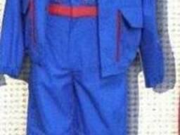 Костюм рабочий, спецодежда для газовиков, униформа технолога