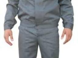 Костюм рабочий, спецодежда, рабочая одежда, брюки и куртка.
