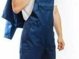 Костюм рабочий Стандарт с полукомбинезоном синий