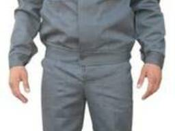 Костюм рабочий, тк грета, серый