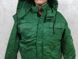 Костюм рабочий утепленный Техник грета зеленая
