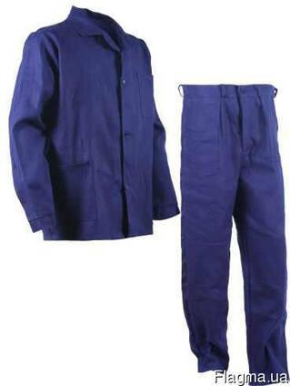 Костюм рабочий женский или мужской. диагональ д/с куртка и