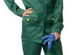 Костюм рабочий женский, куртка и брюки