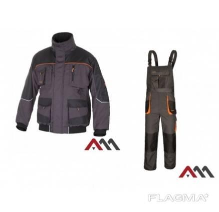 Костюм рабочий зимний ARTMAS CLASSICWIN.65% полиэстер, 35% хлопок. Цвет:серый