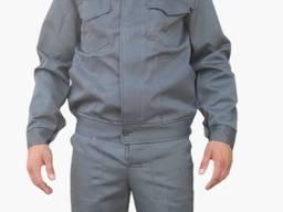 Костюм робочий з брюками, сірого кольору