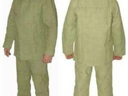 Костюм сварщика, брезентовый костюм, одежда специальная