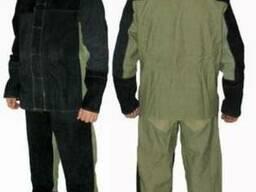 Костюм сварщика со спилком, костюм брезентовый со спилком