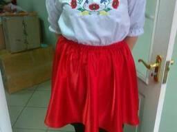 Костюм украинский с вышивкой, блуза. юбка, женский