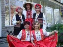 Костюм украинский/ женский, мужской, вышивка, национальный о