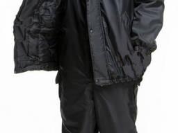 Костюм утепленный для охраны куртка с полукомбинезоном