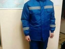 Костюм утепленный, куртка и полукомбинезон, для скорой помощ