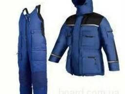 Костюм утепленный (куртка полукомбинезон)
