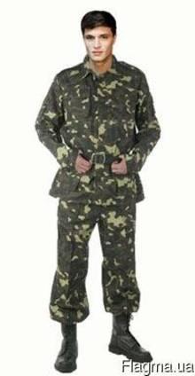 Костюм военно-полевой камуфляжный, спецодежда, военное обмун