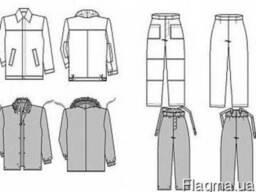 Утепленный костюм, костюм-трансформер
