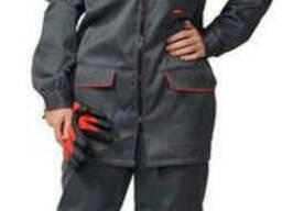 Костюм женский рабочий, спецодежда, куртка и брюки