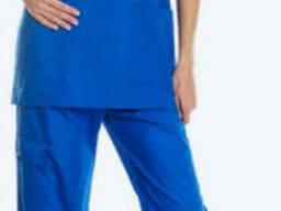 Костюм женский синий для сотрудников скорой помощи