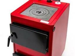 Котел на твердому паливі Проскурів 14 кВт з плитою