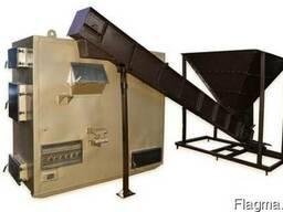Котел воздуш отопления с автомат подачей щепы, тырсы 150кВт