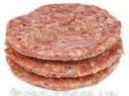Котлета для бургеров свино-говяжья 12см 110гр