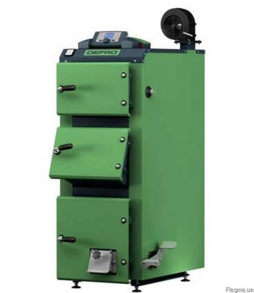 Котлы на дровах Defro KDR Plus 20 кВт с автоматикой, Дефро