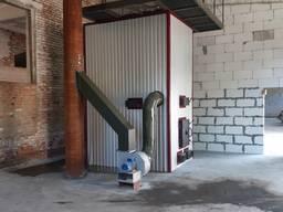 Котлы воздушного отопления на дровах теплогенератор с теплообменником