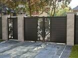 Кованные и вырезанные плазмой ворота и калитки - фото 1