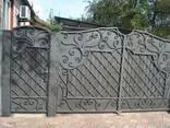 Кованные ворота - фото 1