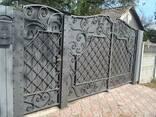Кованные ворота - фото 2