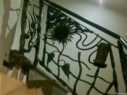 Кованые балконы, перила