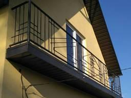 Кованые балконы под ключ по всей Украине.