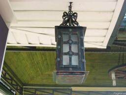 Кованые фонари, мостики, беседки, цветочники, кованая мебель