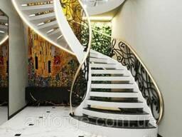 Кованые перила, ограждения для лестниц, балконов, террасс