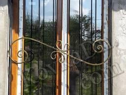 Металлические решетки на окна кованые и сварные