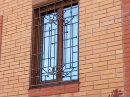 Кованые решетки на окна, оконные решетки - фото 3